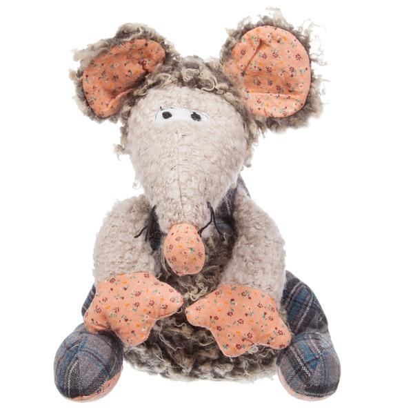 Мягкая игрушка Мышка Томас (27 см)