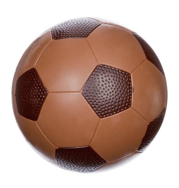 Шоколадная фигура Футбольный мяч – фото № 1