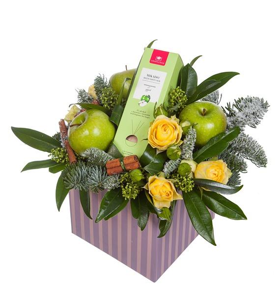 Подарочная коробка Яблочный аромат – фото № 4