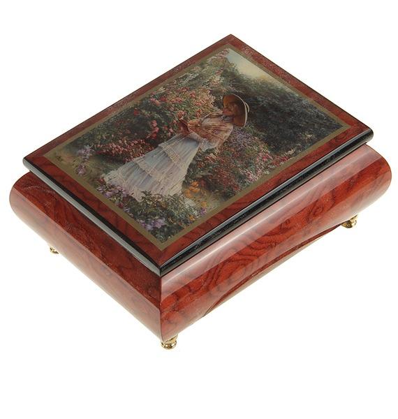 Музыкальная шкатулка Цветущий сад trousselier музыкальная шкатулка fairy parma