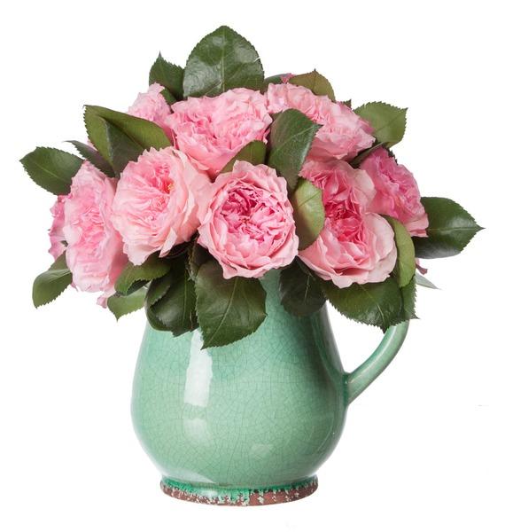Композиция из пионовидных роз Mayras Rose – фото № 4