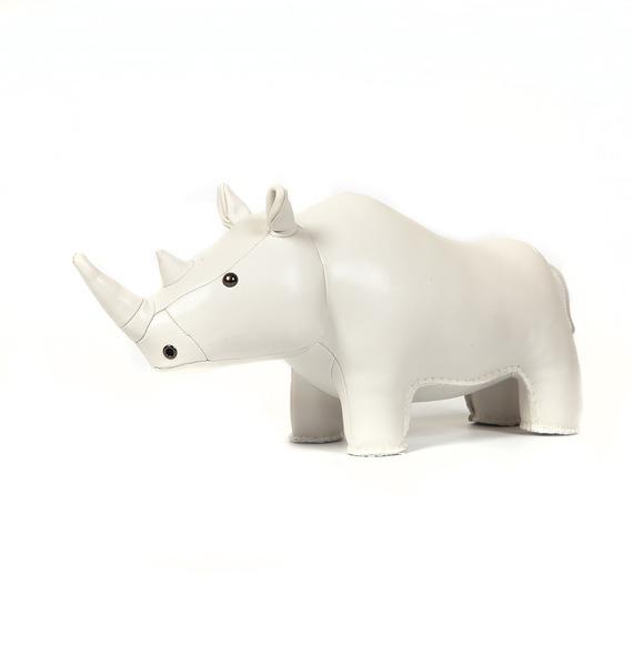 """Игрушка из эко-кожи """"Носорог"""""""