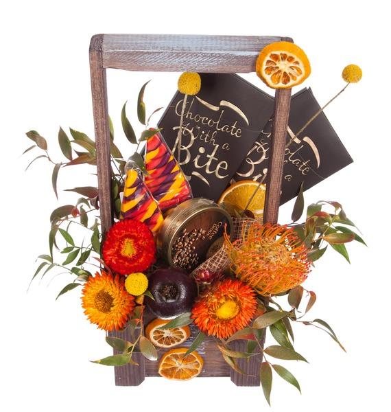 Подарочное кашпо Сентябрь – фото № 5
