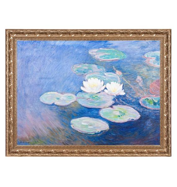Картина К. Моне Водяные лилии (95х75см.) – фото № 1