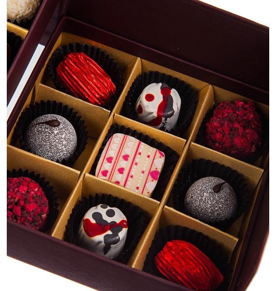 Конфеты ручной работы из бельгийского шоколада Рубин 18 – фото № 2