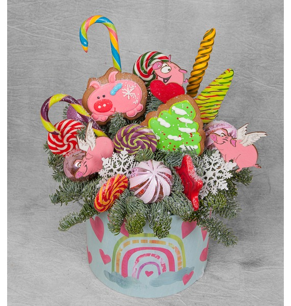 Композиция Новогодние радости ирина вязова новогодние игрушки