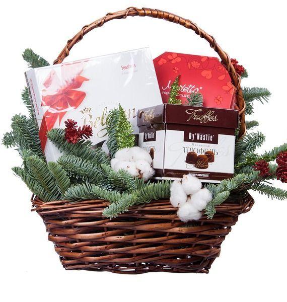 Подарочная корзина «Первый снег» подарочная корзина чайная с заварочной кружкой