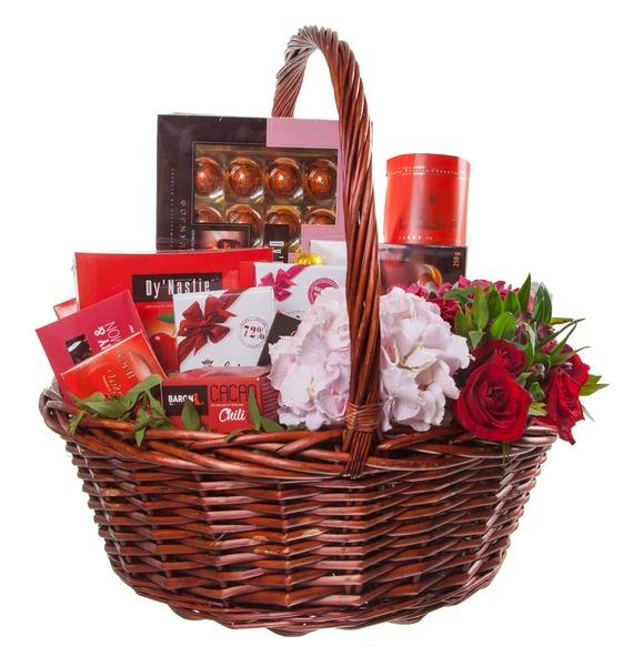 Gift basket Delicate petal – photo #4