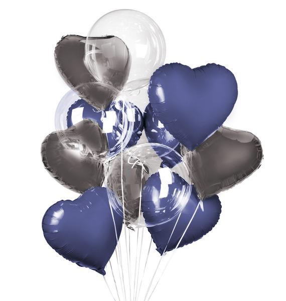 """Букет шаров """"Волшебство"""" (11 или 21 шар) доброе волшебство мультипликации выпуск 1"""