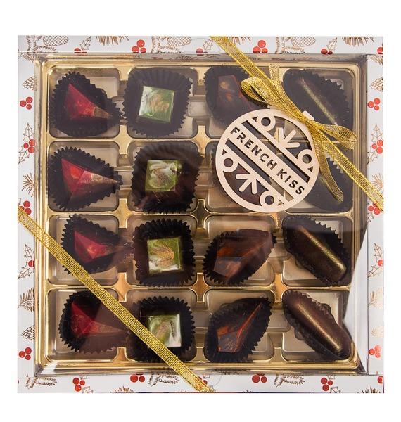 Конфеты ручной работы из бельгийского шоколада Очарование зимы – фото № 1