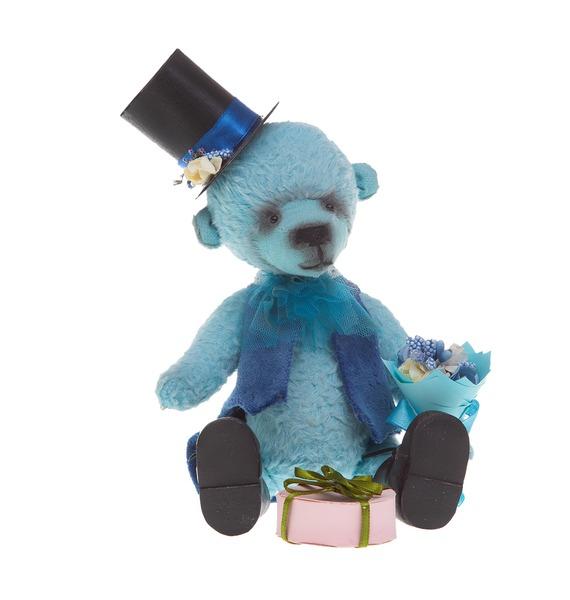 авторская игрушка ручной работы мишка тедди с любовью Игрушка ручной работы Мишка. Первое свидание