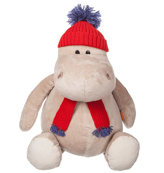 Мягкая игрушка Бегемот Жорик (50 см) hansa мягкая игрушка бегемот