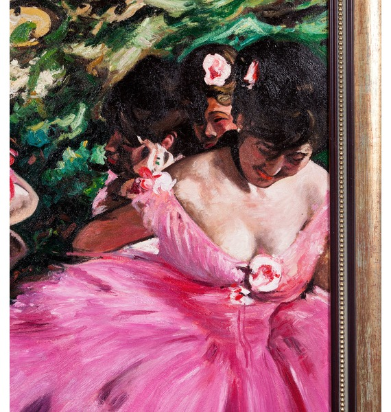 Картина Э. Дега Танцовщицы в розовом (90х80см.) – фото № 2