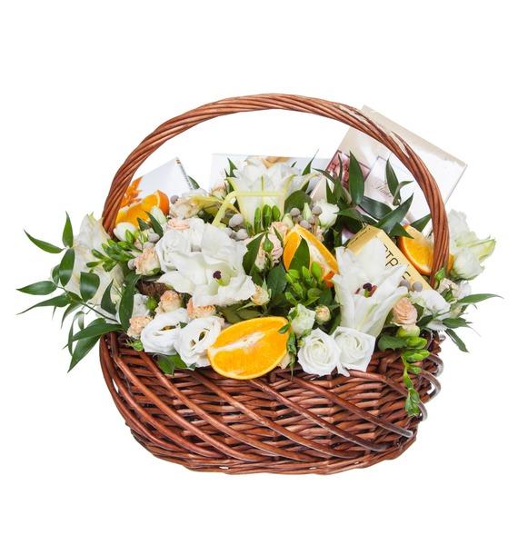 Подарочная корзина Апельсиновый фрэш – фото № 4