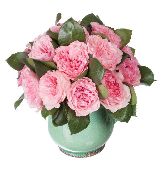 Композиция из пионовидных роз Mayras Rose – фото № 5
