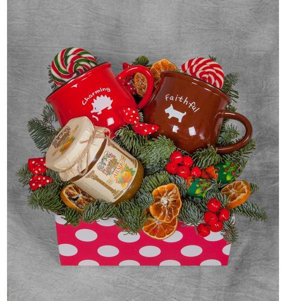 Подарочная коробка Варенье с чаем имбирное варенье с вашим именем семейный праздник