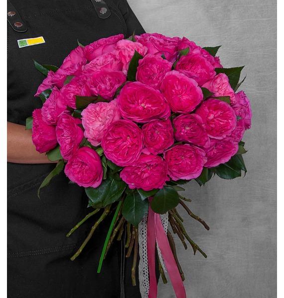 """Букет из пионовидных роз """"Баронесса"""" (15, 25 или 51) цены онлайн"""