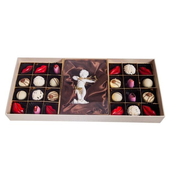 Конфеты ручной работы из бельгийского шоколада Аметист Ангел