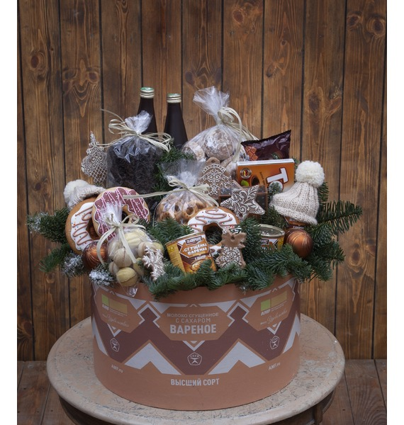 Фото - Подарочная коробка Варёная сгущёнка подарочная коробка ангел