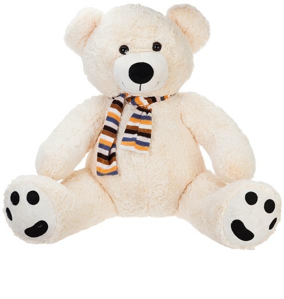 Мягкая игрушка Медведь Сэм (90 см) мягкая игрушка медведь пузатый большой нижегородская игрушка см 377 5