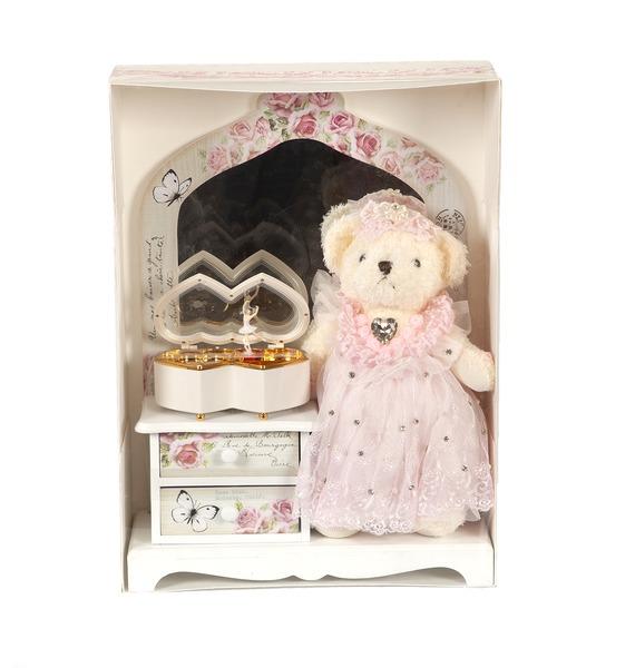 La Suissa Набор шоколадных конфет Медвежонок-модница шкатулка magic home медвежонок йог 76649