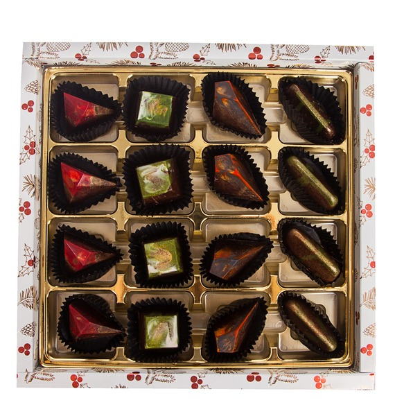 Конфеты ручной работы из бельгийского шоколада Очарование зимы – фото № 3