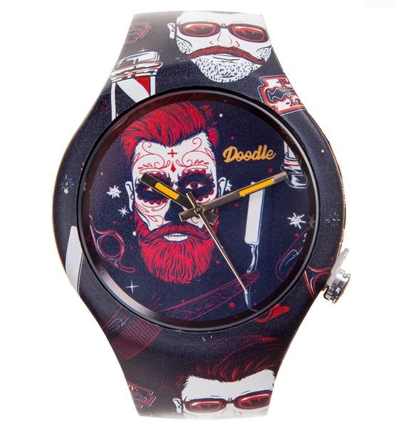 Часы Doodle Хипстер часы doodle мультяшный кот