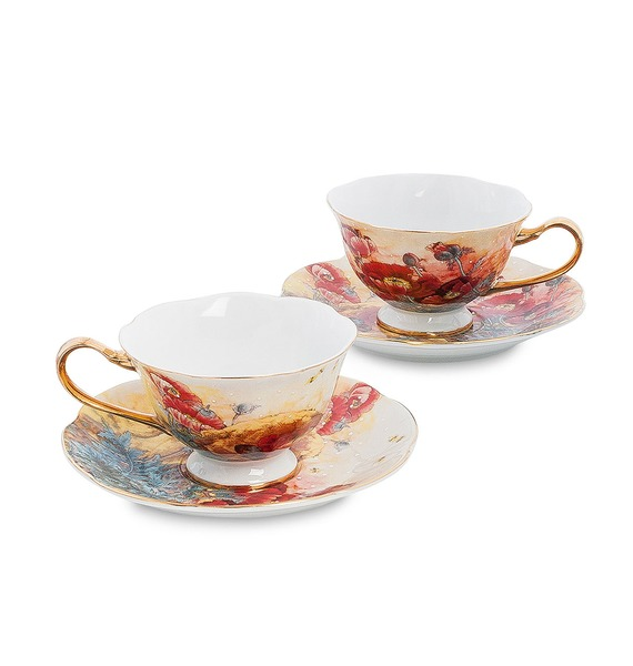 Чайный набор на 2 персоны Дольче Вита (Pavone)
