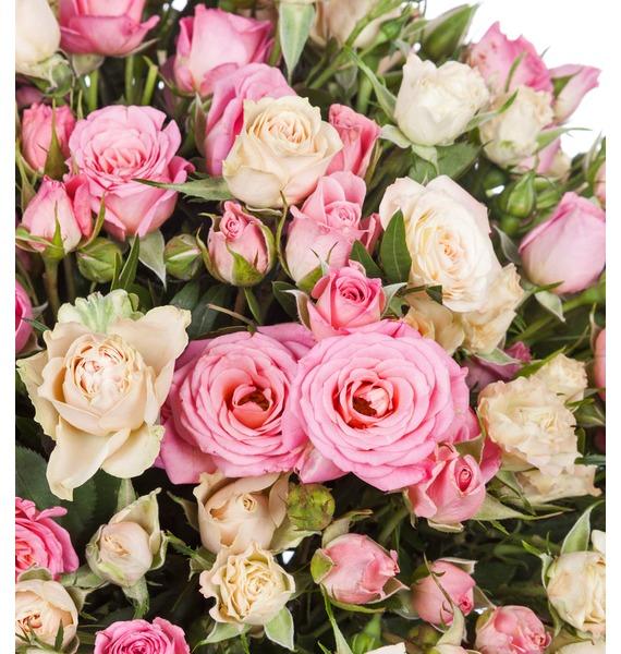 Букет Тихая гавань (25, 35, 51 роза) – фото № 3
