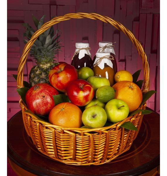 Подарочная корзина Нужные витамины дюкрей анафаз витамины