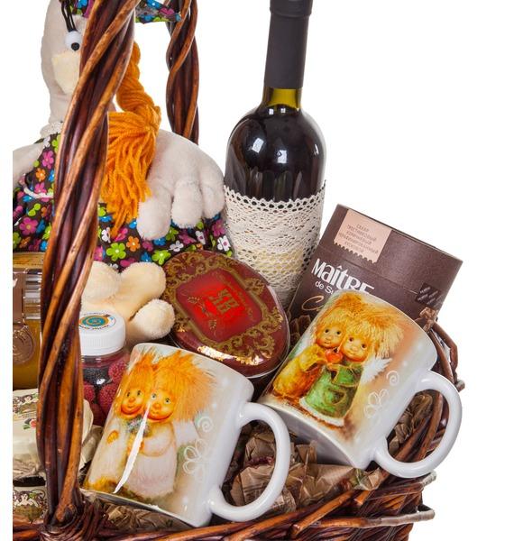Подарочная корзина Любимое варенье (Кагор в подарок) – фото № 2