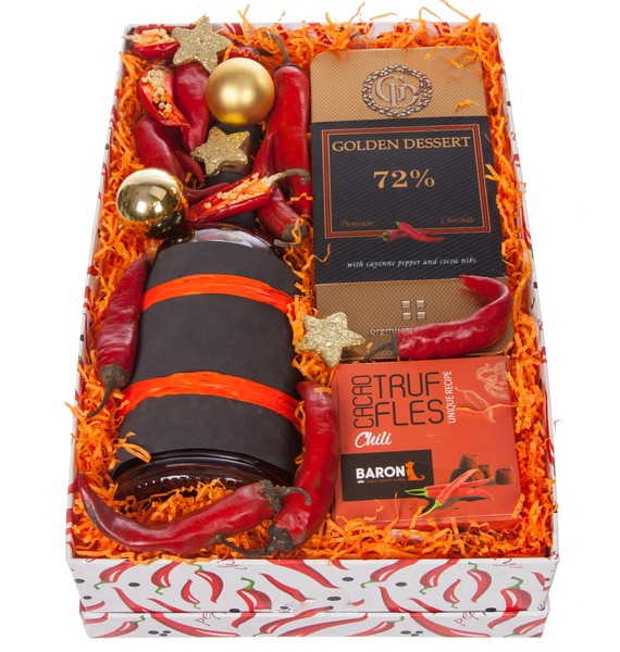Подарочная коробка Very hot (Коньяк в подарок) – фото № 4
