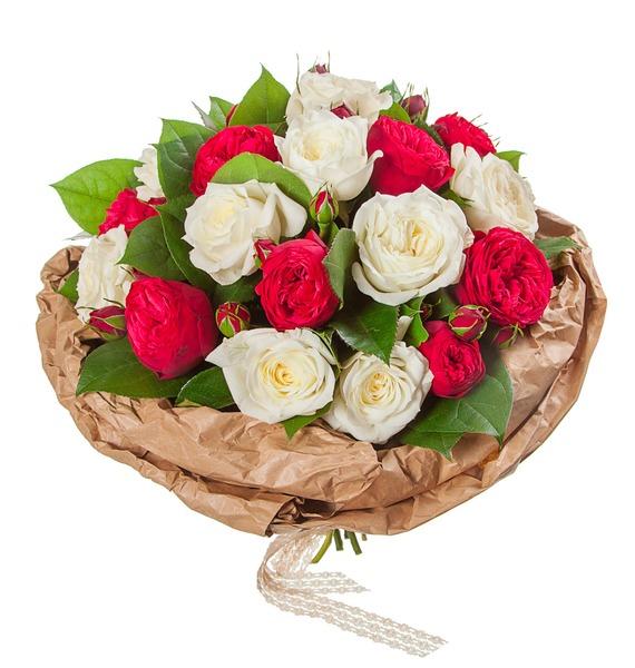 Букет из пионовидных роз Вечность (15, 25 или 51) – фото № 5