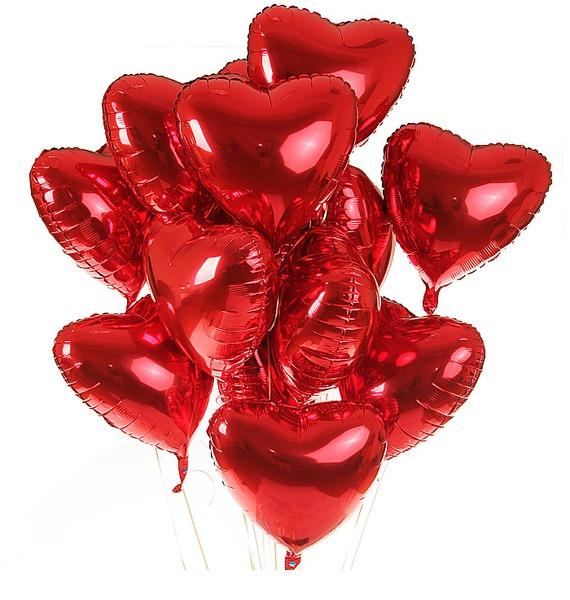 Букет шаров Вечная любовь (11 или 21 шар) – фото № 1