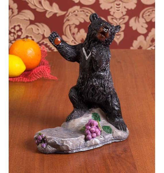 "все цены на Подставка под вино ""Медведь"""