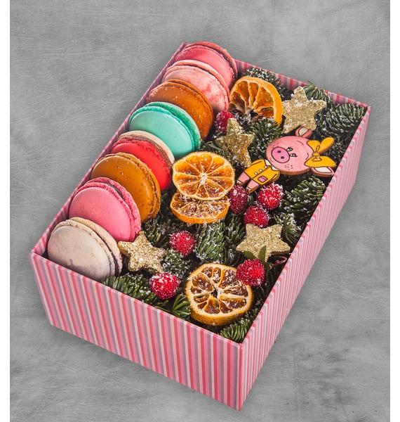 Подарочная коробка Сладкое наваждение коробка подарочная совы на белом 19 12 5 8см картон kairui 13 kairui hz 907m