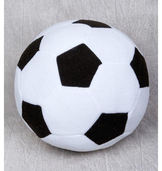 Мягкая игрушка Футбольный мяч (23см) мягкая игрушка собачка мила в платье 23см цвет бежевый