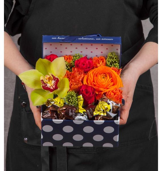 Подарочная коробка Радость коробка подарочная бант 20х10х5 5 см