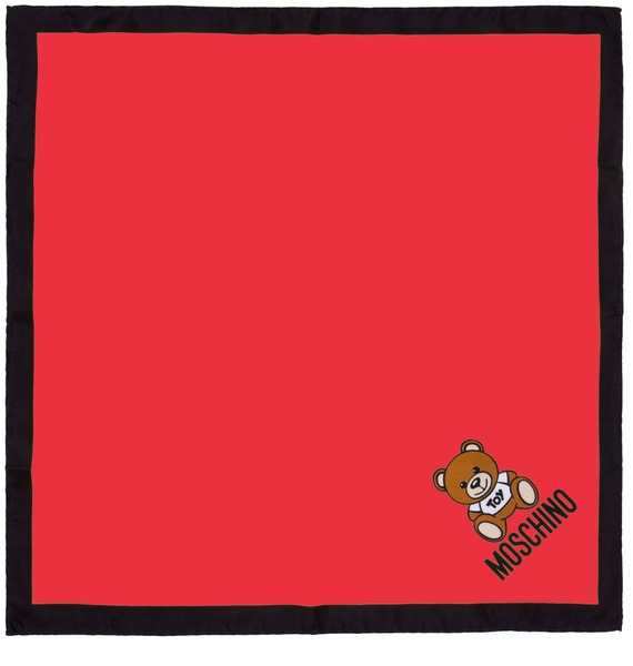 Шелковый платок MOSCHINO Нежность (Италия, 50х50 см) – фото № 2
