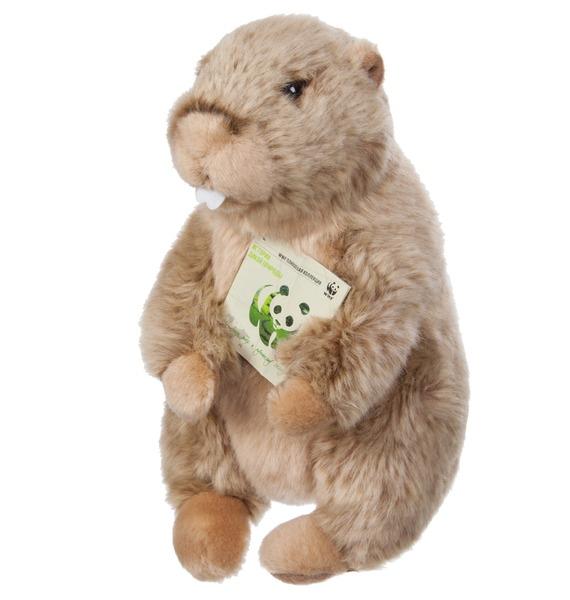 Фото - Мягкая игрушка Сурок WWF (23 см) мягкая игрушка мульти пульти 221606 221606