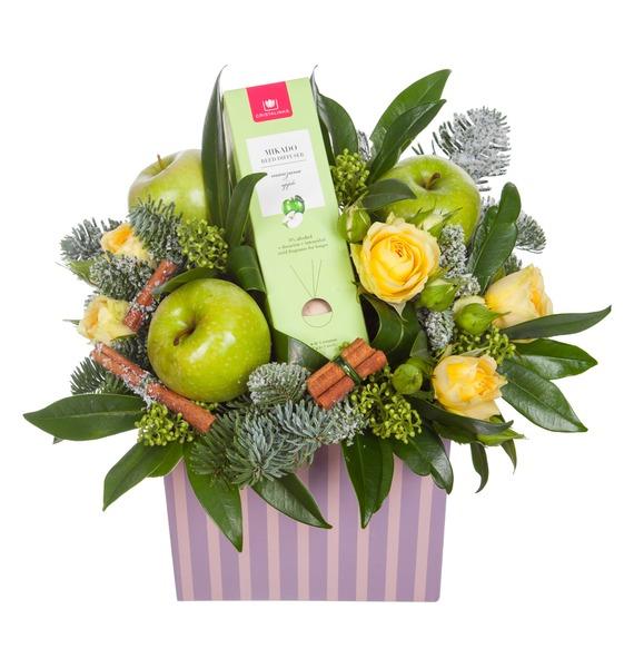Подарочная коробка Яблочный аромат – фото № 5