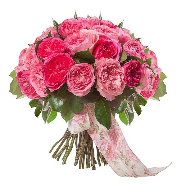 Букет из пионовидных роз Великолепие (15, 25 или 51) – фото № 4