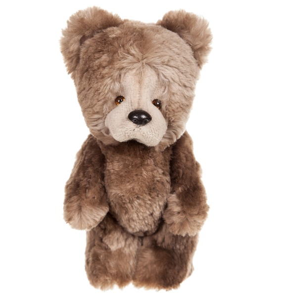 "цена на Игрушка из натурального меха бобра ""Медвежонок"" (20 см)"