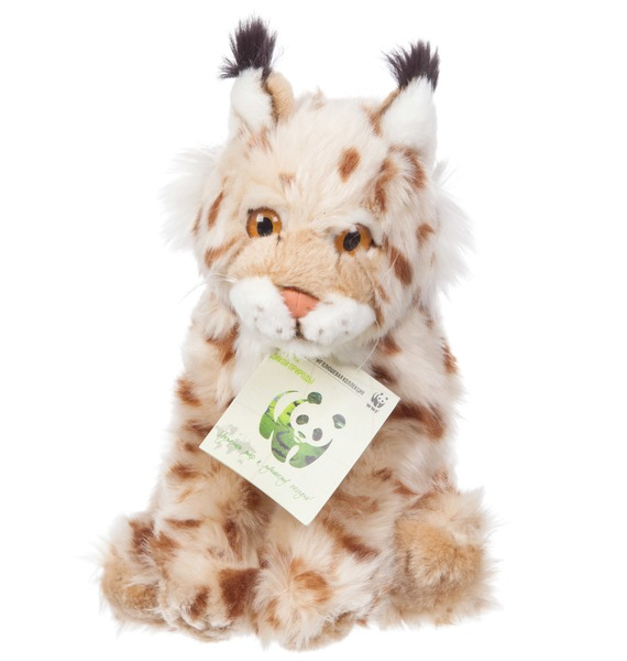 Мягкая игрушка Рысь WWF (23 см) игрушка