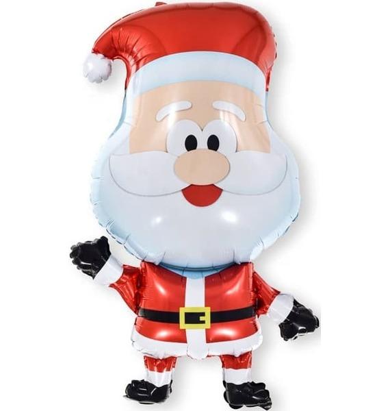 Воздушный шар Веселый Санта (81 см) цена