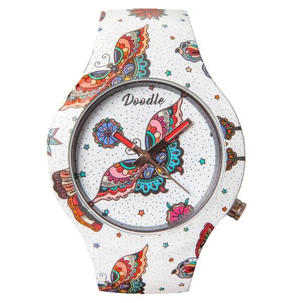 Часы Doodle Бабочка – фото № 3