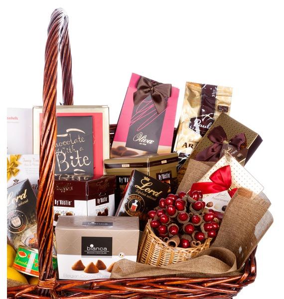 Подарочная корзина Важной персоне (Коньяк в подарок) – фото № 3