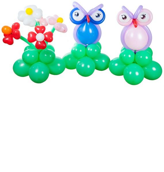 Композиция из шаров Подарок композиция из шаров букет