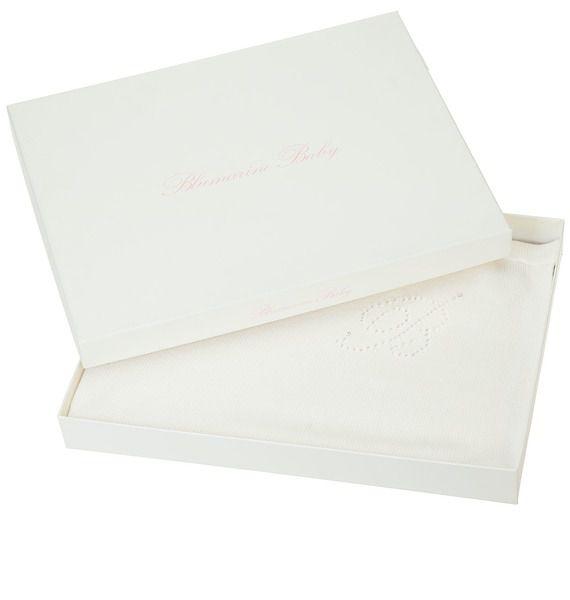 Плед вязаный детский Blumarine детский комплект для кроватки blumarine