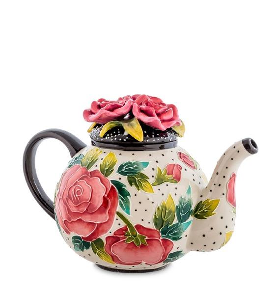 Заварочный чайник Розы чайник заварочный lefard новогодняя елочка 1 2 л разноцветный